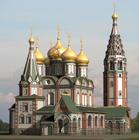 Храм Всех Святых Памяти павших в Первой мировой войне город Гусев