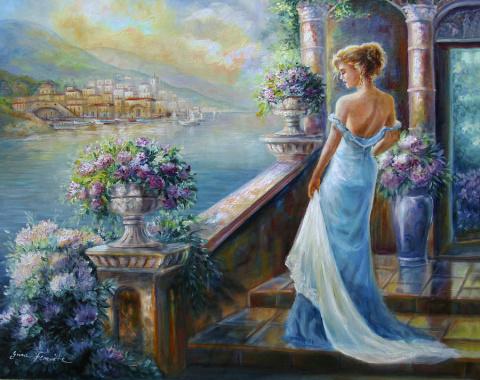 Нежность и гармония в картинах Джины Фемрайт - Gina Femrite