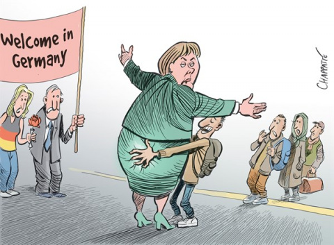 Доренко: Беженцы режут «евро…