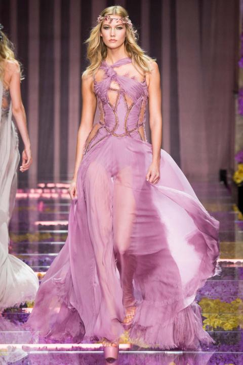 Неделя высокой моды: Atelier Versace осень 2015