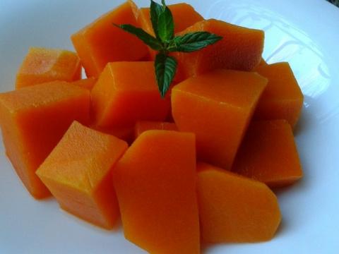 Рецепт № 1.Тыква как ананас!