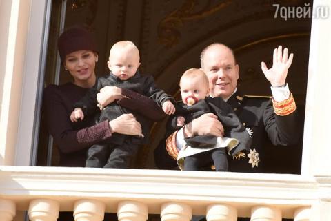 Князь Монако Альбер II и кня…