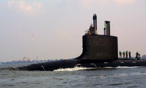 Гигантская русская ядерная подлодка «Дмитрий Донской» напугала шведов