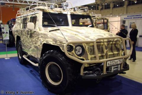 Гражданский ГАЗ-233001 Тигр …