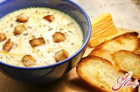 Рецепт французского супа с сыром