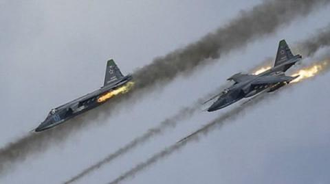 ВКС России уничтожили огромн…