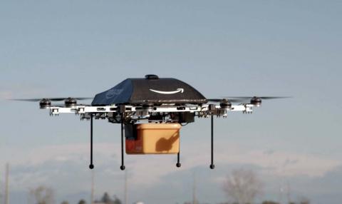 Американцам будут доставлять товары дронами