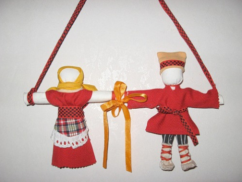 Авторская кукла - Оберег. Неразлучники. (Зоя Пинигина) М.К.