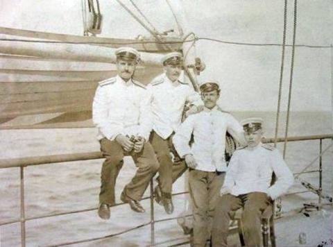 Русский флот на Черном море …