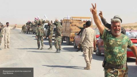 Сирийская армия захватила в …