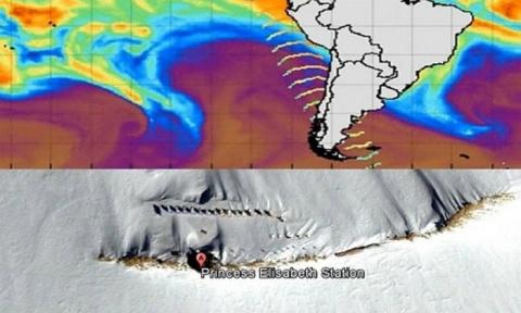 Антарктида: волновые аномалии заставляют призадуматься