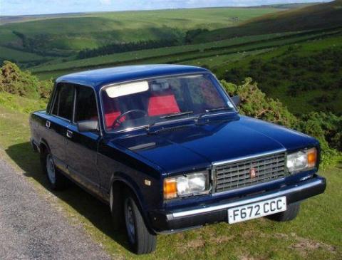 Британец коллекционирует советские автомобили!