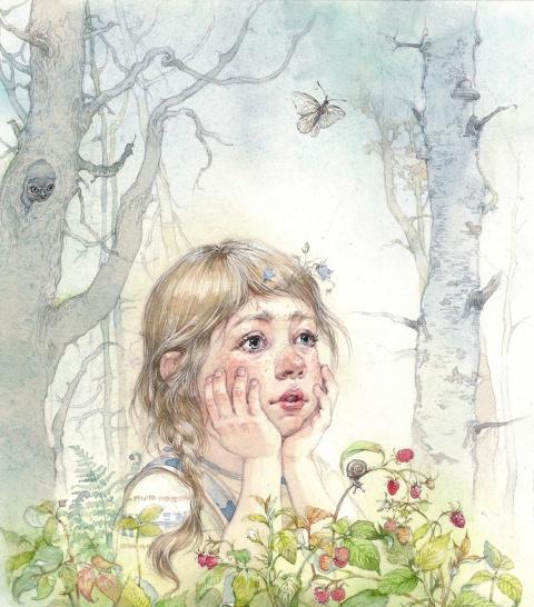 Обитатели книжных страниц, художник-иллюстратор Екатерина Бородачева