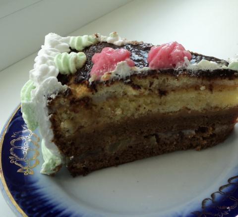 """Торт """"С днем рожденья"""""""