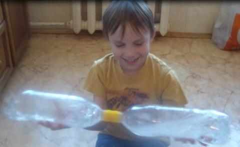 Делаем с детьми игрушки. Задание 5 - Водяные часы