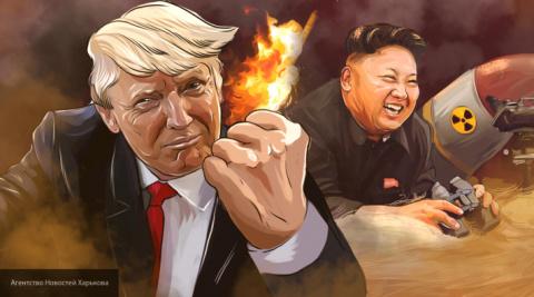 Дональд Трамп обозвал Ким Че…