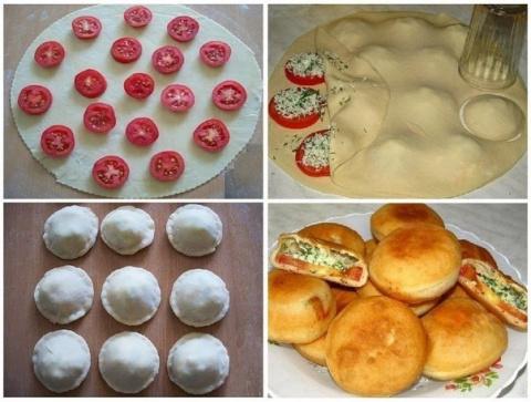 Рецепт пирожков «Бомбочки»