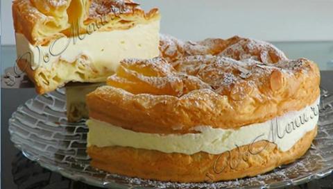 Польский заварной торт или п…