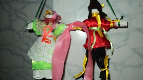 Поделки. Мои куклы-оберег
