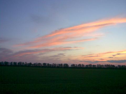 И снова закат.....