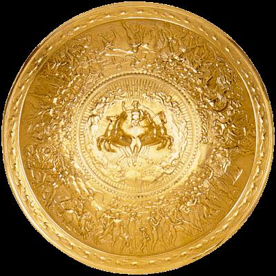 Загадка истории – как в реальности выглядел легендарный щит Ахилла (доставшийся впоследствии Александру Македонскому)?