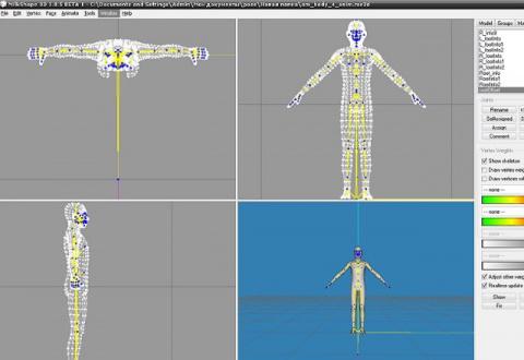 Создание собственной позы с помощью Milkshape 3d от ReviS