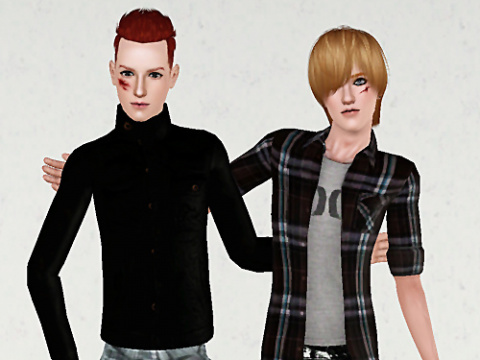 Fighting Poses by Oh My Sims