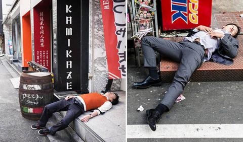 «Живительный глоток саке»: Необычное отношение к пьяным гулякам в Японии