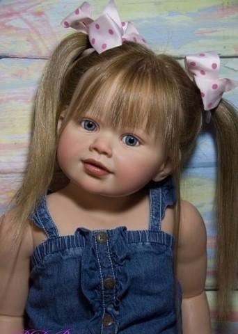 Вот это куклы! Такие реалистичные и красивые)