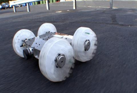 «Робот-блоха» SandFlea