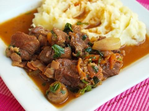 Вкуснейшее сочное жареное мясо