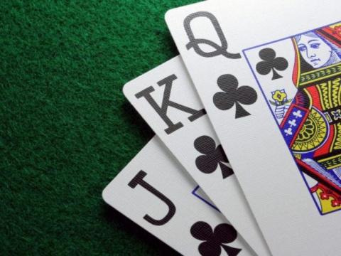 Папа играл в покер с друзьям…