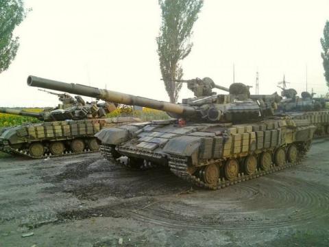 Т-64. Символ этой войны