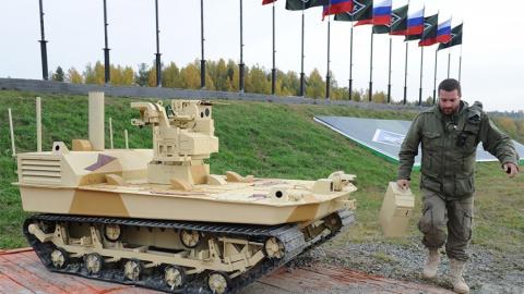 Русские боевые роботы, смутн…