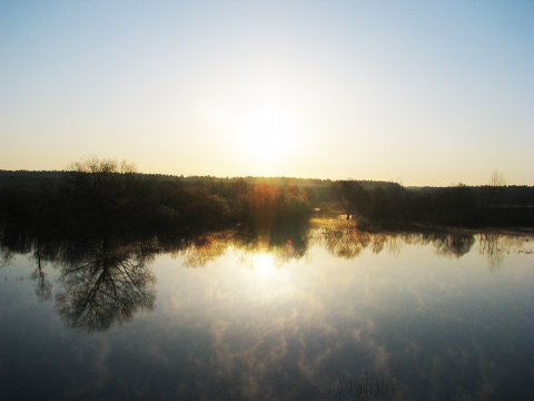 Апрельский рассвет