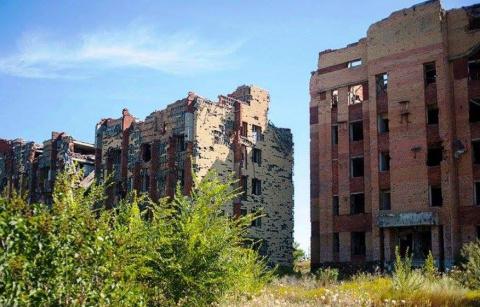 Умирающий Донецк летом 2017 года (фото).
