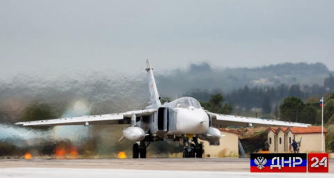 Путин прилетел в Сирию