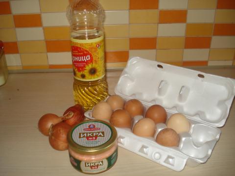 """Закуска из яиц """"малобюджетная"""" - """"Курсы быстрой готовки"""""""