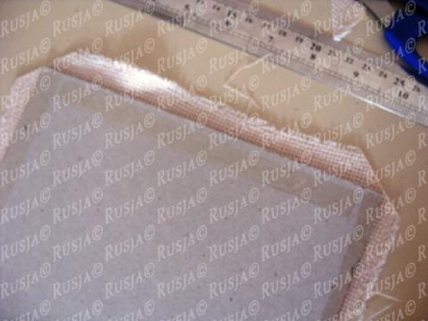 Монохромная вышивка + небольшой МК оформления работы в рамку