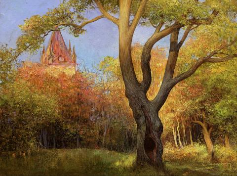 Картины Петербургского художника Андрея Мамаева