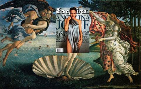 Если бы Боттичелли рисовал Анджелину Джоли