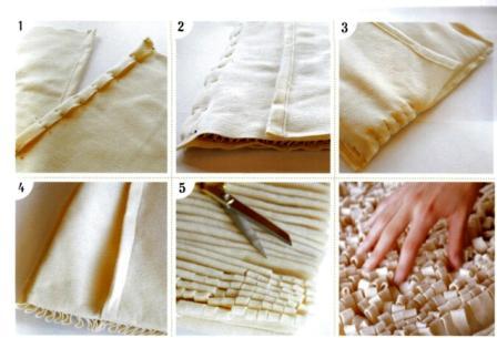 Идея.Кудрявая подушка