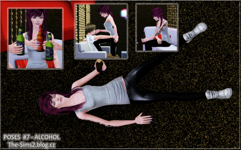 Alcohol Themed Poses by Mrs.Faraday