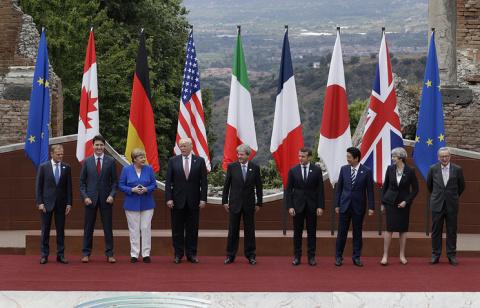 Стартовал 43-й по счету саммит G7
