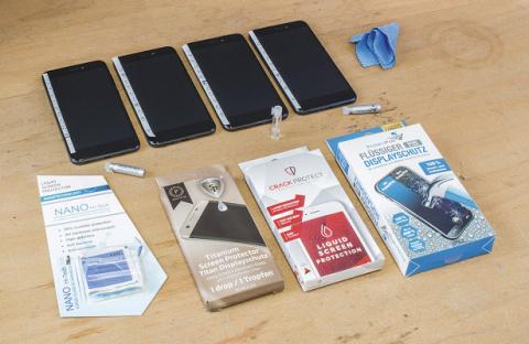 «Жидкая защита» для экрана смартфона: правда или фэйк?