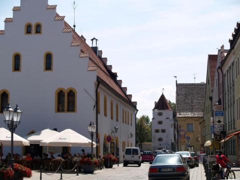 Шонгау — старинный город в Верхней Баварии