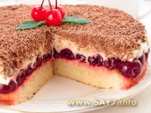 Торт с бисквитом дакуаз фото 4