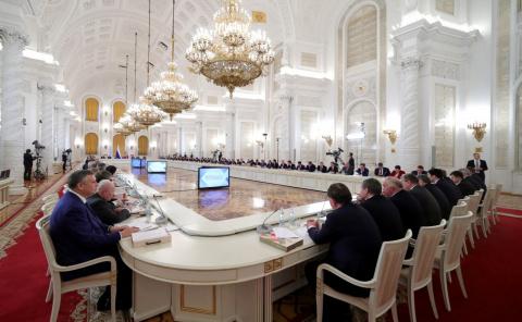 Заседание Госсовета по вопросам повышения инвестиционной привлекательности регионов
