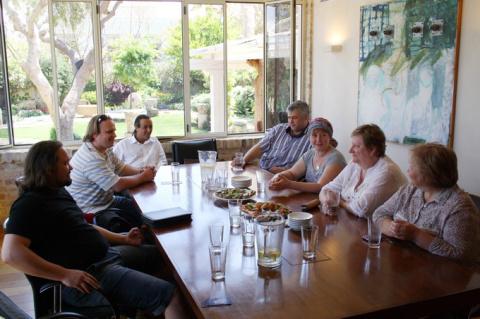 Члены Совета Координаторов в Национальном Медицинском Центре Натания, Израиль