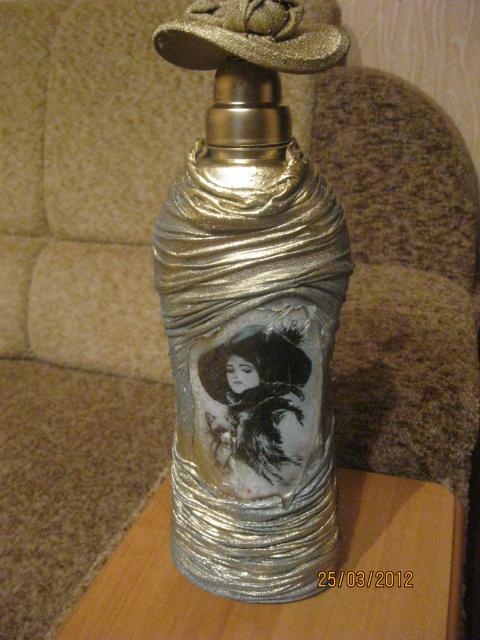 Бутылочка в колготках